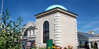 Балтийский вокзал, часовня Марии Гатчинской
