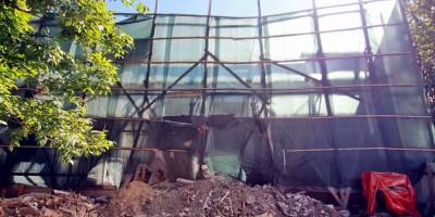 Флигель дома Гербольдта на Санкт-Петербургском проспекте, 25а, в Петергофе, ремонт