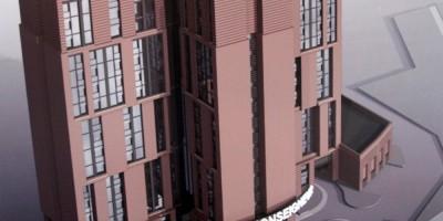 Парфеновская улица, проект гостиницы