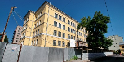 Ремонт школы на Лиговском проспекте, 241