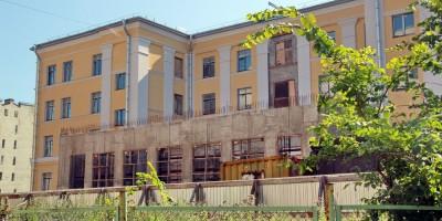 Ремонт школы на Лиговском проспекте, 241, спортзал