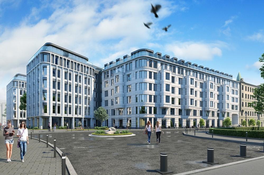 Троицкая площадь, проект жилого дома
