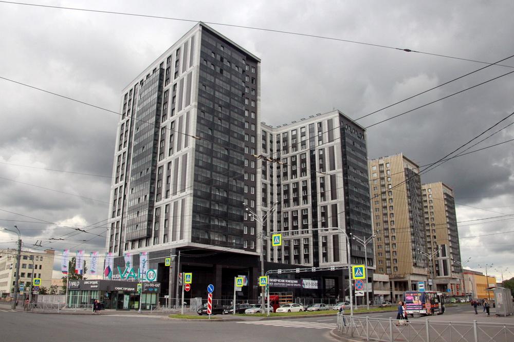 Улица Салова, 61, апарт-отель
