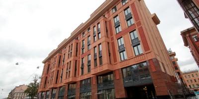 2-я Советская улица, дом 4б, фасад вдоль 3-й Советской улицы
