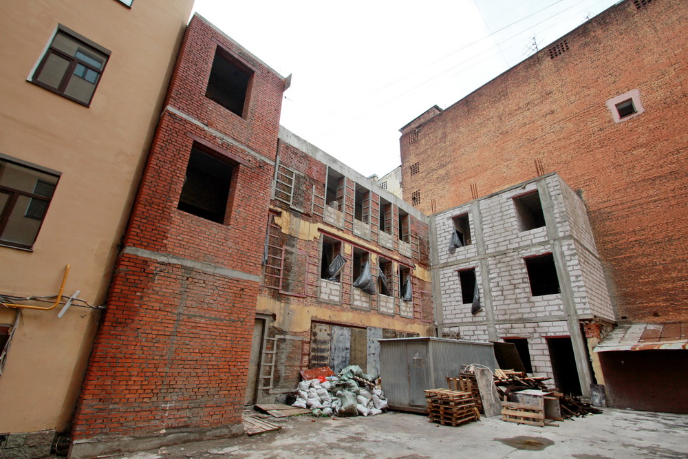 3-я Советская улица, дом 4, литера Б, реконструкция