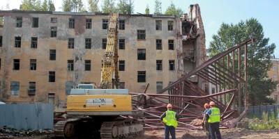 Дом Крутикова на 11-й Красноармейской улице после сноса флигеля