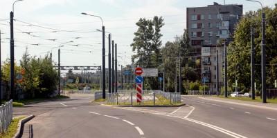Гранитная улица у перекрестка с проспектом Шаумяна