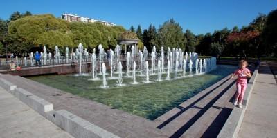 Любашинский сад, фонтан