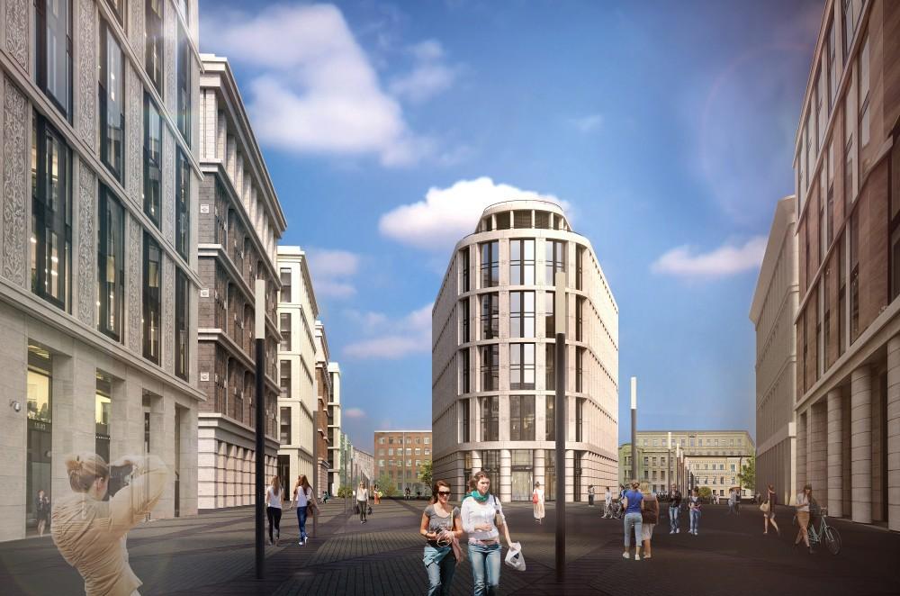 Невская ратуша, проект новой очереди, гостиница