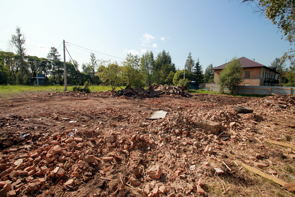 Ново-Ковалево, 2-я Поперечная улица, дом 8, после сноса