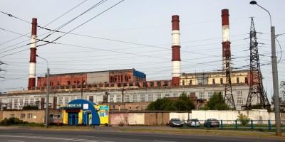 Первомайская ТЭЦ, вид с проспекта Маршала Жукова