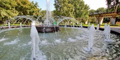 Сад 30-летия Октября, фонтан