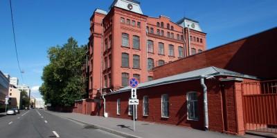 Улица Красного Текстильщика, дом 10-12, литера У, боковой фасад
