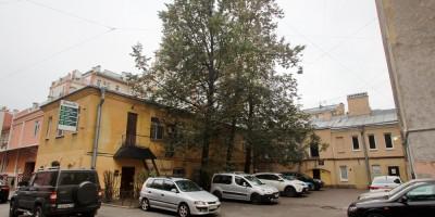 Бармалеева улица, 22, вид с Подрезовой улицы