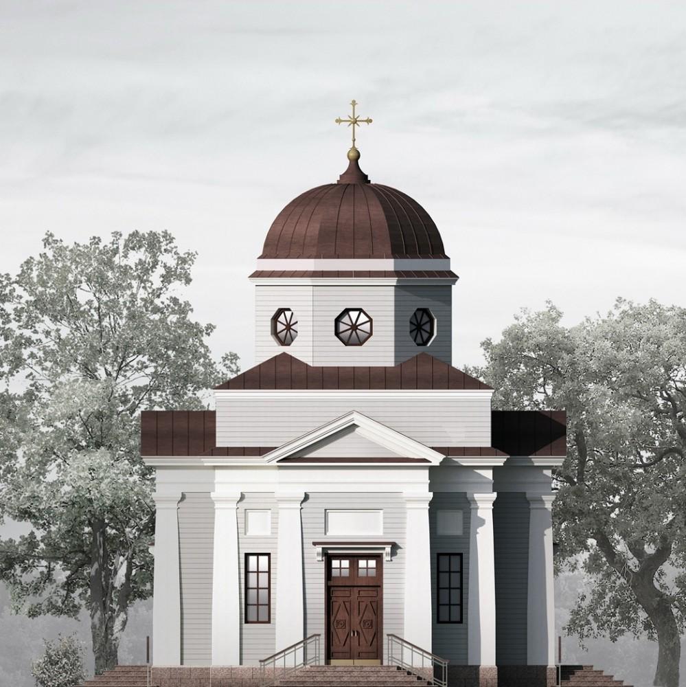 Парнас, церковь святой мученицы Киры Оболенской, проект