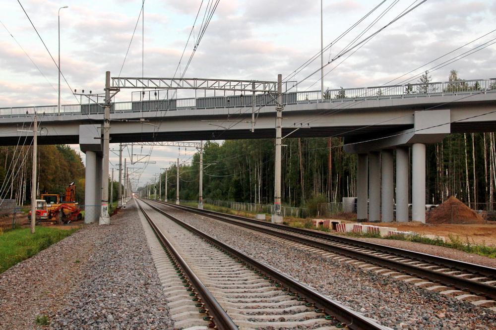 Песочный, Белоостровское шоссе, путепровод