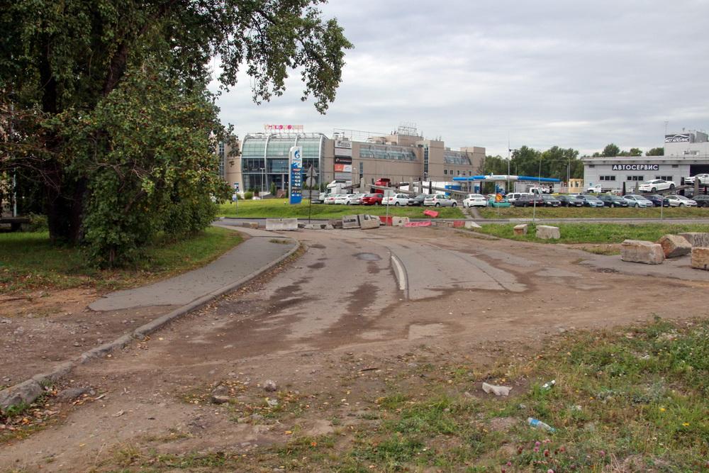 Полевая Сабировская улица, старая трасса