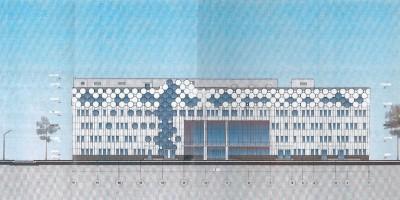 Проект нового корпуса онкологического центра в Песочном