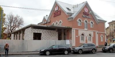 Реконструкция ресторана Тако на улице Савушкина, 10, корпус 2
