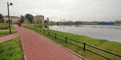 Ивановский сад, берег