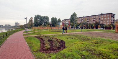 Ивановский сад, газоны