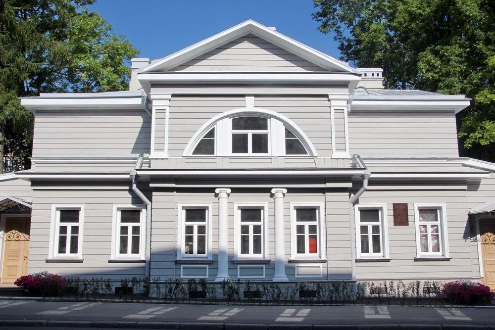 Дом Канобио на Леонтьевской улице, 18, в Пушкине