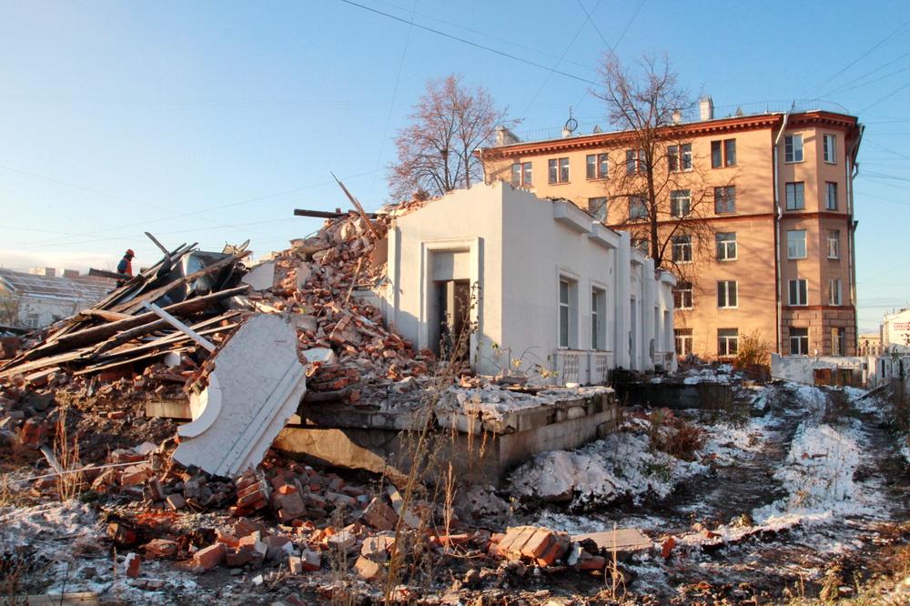 Нейшлотский переулок, 3, снос здания