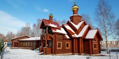 Никольская церковь в Новой Скандинавии на берегу Суздальского озера