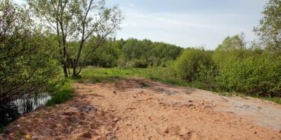 Ольгин Канал, место бывшей детской площадки