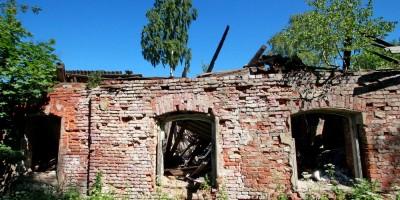 Осиновая Роща, Межозерная улица, дом 14, корпус 1, литера Б, руины