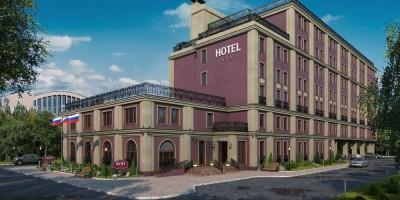 Проект строительства гостиницы на Литовской улице, 1, корпус 3