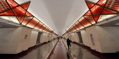 Станция метро Проспект Славы