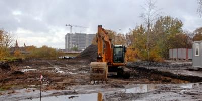 Строительство нового участка проспекта Ветеранов