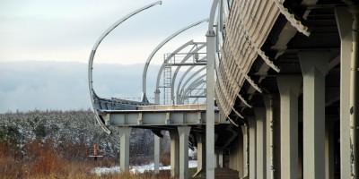 Западный скоростной диаметр, съезд на Шуваловский проспект