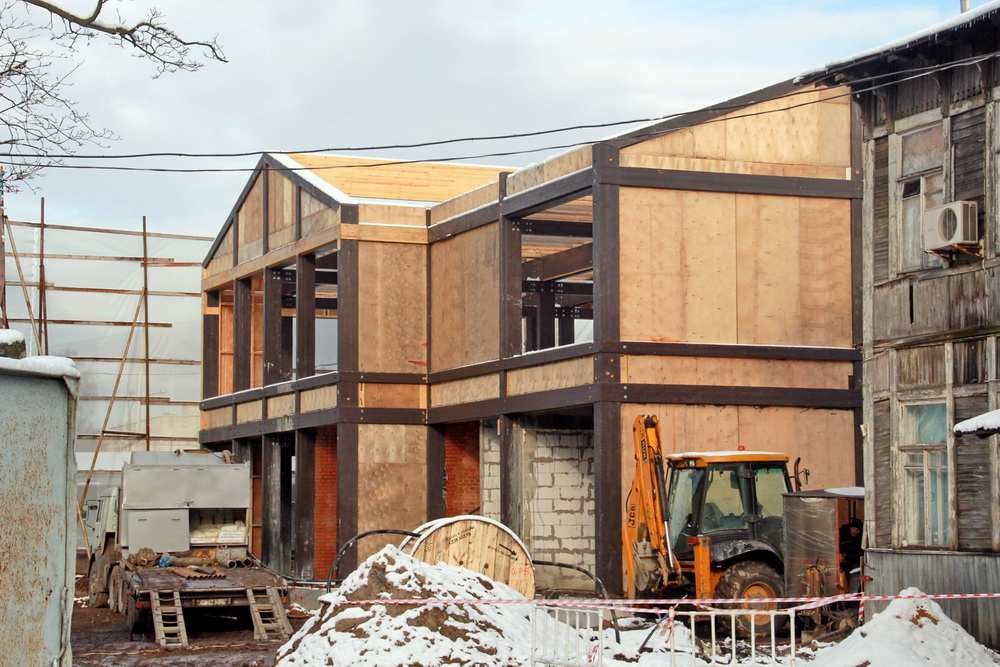Фермское шоссе, дом 35-37, литера Б, строительство здания