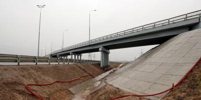 Ям-Ижорское шоссе, путепровод над М-11