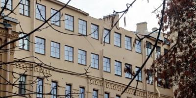 Коммерческое училища на улице Ломоносова после обрушения