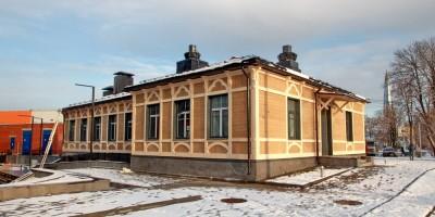 Лахтинский проспект, дом 85, корпус 3, воссозданное здание