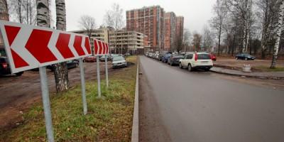 Лиственная улица, новая трасса