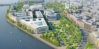 Проект комплекса Верховного суда на проспекте Добролюбова