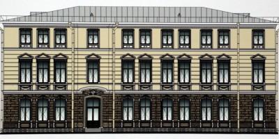 Севастопольская улица, дом 15, проект реконструкции