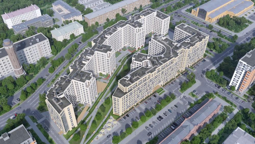 Измайловский бульвар, проект жилых домов