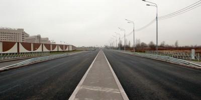 Колпино, Рубежное шоссе