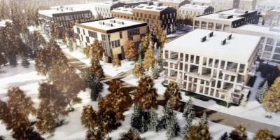 Новая Ижора, проект второй очереди, жилые дома