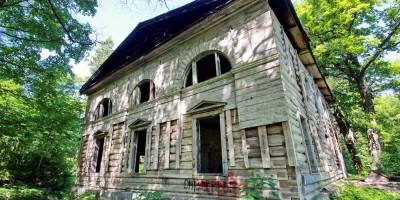 Парголово, дворец усадьбы Осиновая Рощина, западное крыло