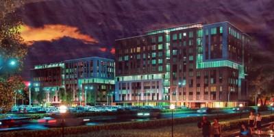 Проект бизнес-центра на набережной Обводного канала, 118, корпус 5