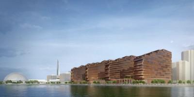 Приморский проспект, проект апарт-отеля в Пьяной гавани