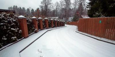 Репино, 1-й Балтийский переулок, изгибы