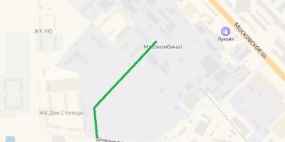 Схема улицы Георгия Чернышева