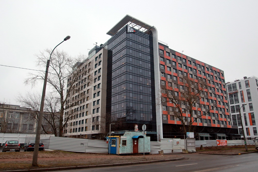 Улица Грибалевой, дом 9, корпус 1